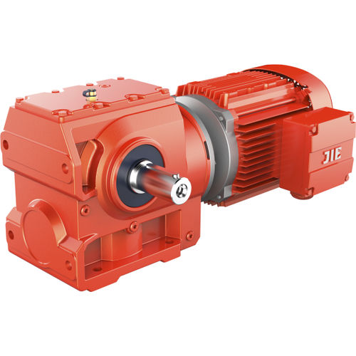 S helical gear worm gear reducer